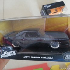 Coches a escala: FAST AND FURIOUS LETTY'S PLYMOUTH BARRACUDA (DIE CAST). Lote 203521256