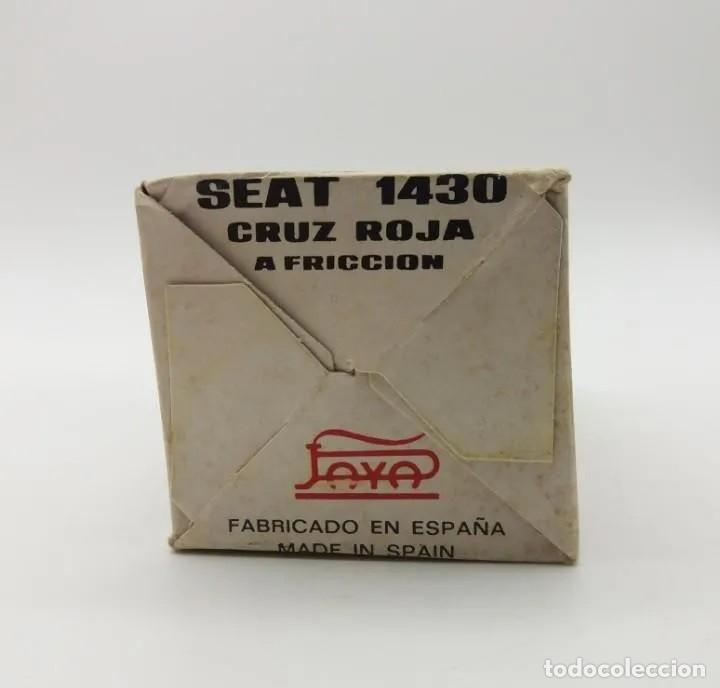 Coches a escala: SEAT 1430 CRUZ ROJA A FRICCIÓN REFERENCIA 8057 PAYÁ escala 1/32 - Foto 7 - 205677083