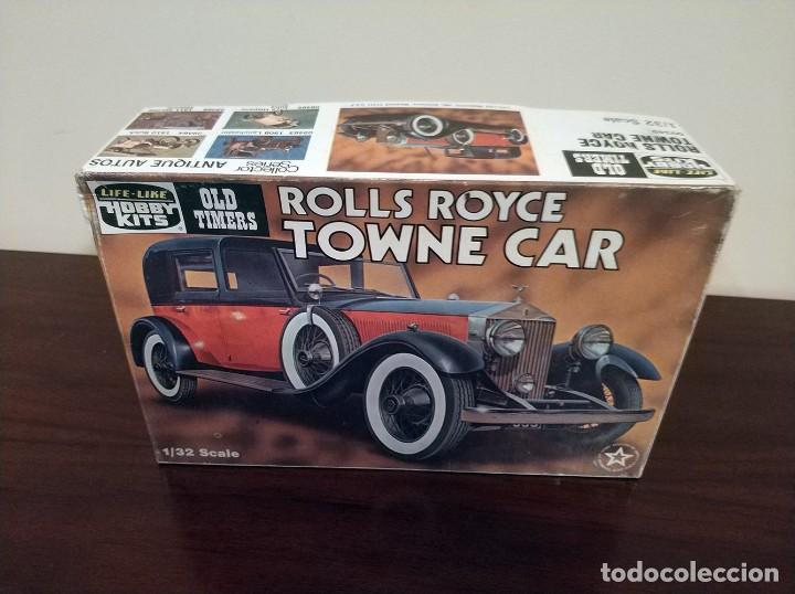 Coches a escala: Coche ROLLS ROYCE TOWNE CAR Life-Like Old Timers 1/32 - Foto 5 - 205759846