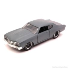Coches a escala: CHEVY CHEVELLE SS DOM FAST & FURIOUS 1:32 COCHE JADA DIECAST. Lote 206293436