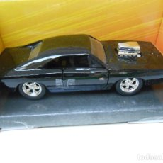 Coches a escala: 1:32 COCHE FAST & FURIOUS DOM DODGE CHARGER R/T CAR 1/32. Lote 206987573