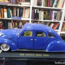 Auto in scala: LINCOLN ZEPHYR SEDAN 1936 4 DOOR 74236 - ESCALA 1-32. Lote 207592550
