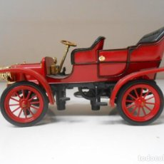 Coches a escala: 7 COCHE CADILLAC MODEL M 1907 SIGNATURE 1/32 1:32 MODEL CAR MINIATURE MINIATURA ALFREEDOM. Lote 208164761