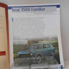 Coches a escala: COCHE SEAT 1500 FAMILIAR 1/43 1:43 QUERIDOS COCHES MINIATURA MODEL CAR VAN ALFREEDOM. Lote 210327892