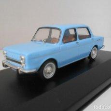Auto in scala: COCHE SIMCA 1000 1/43 1:43 QUERIDOS CON FASCICULO COCHES MINIATURA MODEL CAR VAN ALFREEDOM. Lote 210328348