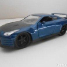 Coches a escala: COCHE NISSAN GT-R 2009 FAST & FURIOUS METAL MODEL CAR MINIATURE 1:32 1/32 FURIUS GTR. Lote 210585665