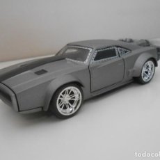 Coches a escala: COCHE DOM ICE CHARGER FAST & FURIOUS METAL MODEL CAR MINIATURE 1:32 1/32 FURIUS JADA. Lote 210585852