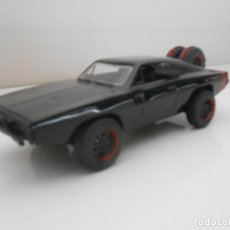 Coches a escala: COCHE 1970 DODGE CHARGER FAST & FURIOUS METAL MODEL CAR MINIATURE 1:32 1/32 FURIUS JADA. Lote 210585912