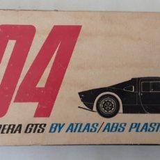 Coches a escala: CAJA VACIA PORSCHE CARRERA GTS ATLAS RACING. Lote 213163463