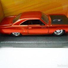 Coches a escala: 1:32 COCHE FAST & FURIOUS DOM PLYMOUTH ROAD RUNNER CAR 1/32 ALFREEDOM. Lote 213886180