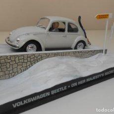 Coches a escala: COCHE BEETLE VOLKSWAGEN VW JAMES BOND 1/43 1:43 CAR ALFREEDOM SPY 007. Lote 213886520