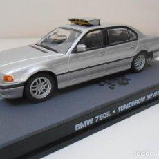 Coches a escala: COCHE BMW 750 IL JAMES BOND 1/43 1:43 CAR ALFREEDOM MINIATURE MODEL SPY 007. Lote 213886610