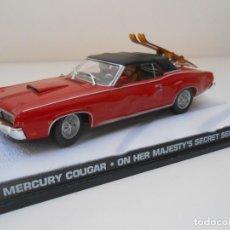Auto in scala: COCHE MERCURY COUGAR JAMES BOND 1/43 1:43 CAR ALFREEDOM MINIATURE MODEL. Lote 213886948