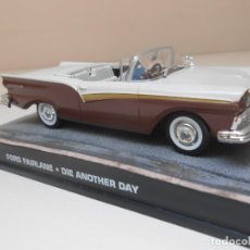 Coches a escala: JAMES BOND COCHE FORD FAIRLANE 1/43 1:43 METAL MODEL CAR ALFREEDOM. Lote 213890202