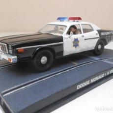 Coches a escala: JAMES BOND COCHE DODGE MONACO POLICIA 1/43 1:43 METAL MODEL CAR POLICE. Lote 213890278