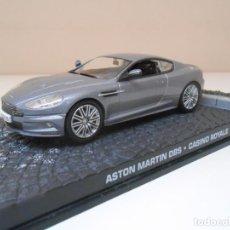 Coches a escala: JAMES BOND COCHE ASTON MARTIN DBS CASINO ROYAL 1/43 1:43 METAL MODEL CAR. Lote 213890423