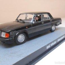 Coches a escala: JAMES BOND COCHE GAZ VOLGA 1/43 1:43 METAL MODEL CAR. Lote 213890561