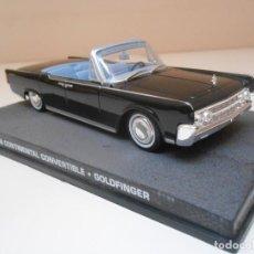 Coches a escala: JAMES BOND COCHE LINCOLN CONTINENTAL CONVERTIBLE 1/43 1:43 METAL MODEL CAR. Lote 213890662
