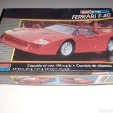 Coches a escala: MONOGRAM FERRARI F-40. MODEL KIT 1989. RARE. Lote 216828137