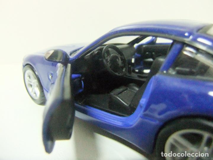 Coches a escala: BMW Z4 M COUPÉ - BURAGO BBURAGO 11635 ESCALA 1:32 - COCHE DEPORTIVO AZUL JUGUETE MINIATURA - Foto 5 - 219911155