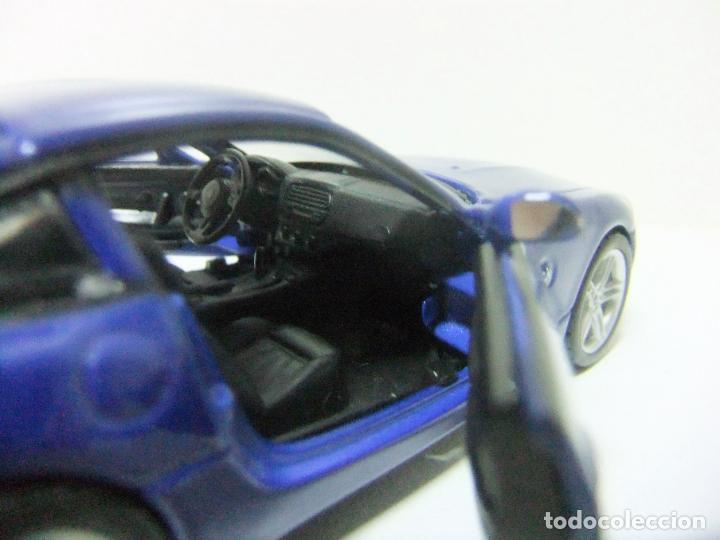 Coches a escala: BMW Z4 M COUPÉ - BURAGO BBURAGO 11635 ESCALA 1:32 - COCHE DEPORTIVO AZUL JUGUETE MINIATURA - Foto 6 - 219911155