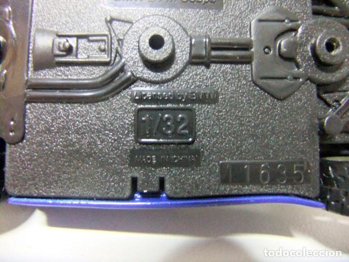 Coches a escala: BMW Z4 M COUPÉ - BURAGO BBURAGO 11635 ESCALA 1:32 - COCHE DEPORTIVO AZUL JUGUETE MINIATURA - Foto 10 - 219911155