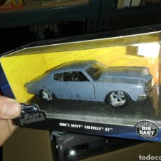Coches a escala: FAST AND FURIOUS DOM'S CHEVY CHEVELLE SS, DIE CAST. Lote 221684646