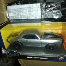 Coches a escala: FAST AND FURIOUS ROMAN'S CHEVY CAMARO, DIE CAST. Lote 221685116
