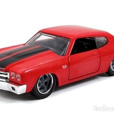 Coches a escala: COCHE CHEVY CHEVELLE SS / FAST AND FURIOUS (ESCALA 1:32) - CINE, TV, FAST&FURIOUS, DOM´S. Lote 221896456