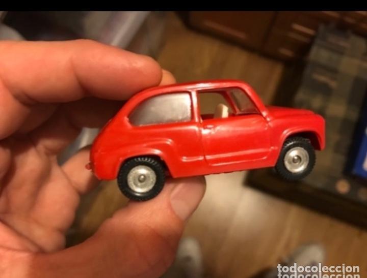 NACORAL CHIQUI CARS, SEAT 600 D REF 2005 DE LOS AÑOS 60 B.E. ROJO RARO (Juguetes - Coches a Escala 1:32)