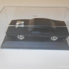Coches a escala: 1:32 COCHE FAST & FURIOUS DOM DODGE CHARGER R/T MOTOR URNA METACRILATO CAR 1/32. Lote 226887835