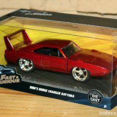 Coches a escala: FAST AND FURIOUS - COCHE DOM DODGE CHARGER DAYTONA - NUEVO Y EN SU CAJA ORIGINAL - PERFECTO ESTADO. Lote 227722895
