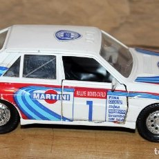 Coches a escala: GUISVAL - LANCIA INTEGRALE 16V - MADE IN SPAIN - ANTIGUO COCHE A ESCALA 1/32. Lote 228225035