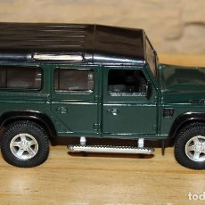 Coches a escala: LAND ROVER DEFENDER - UNIFORTUNE RMZ CITY - METAL Y PLASTICO - 13CM DE LARGO. Lote 228839145