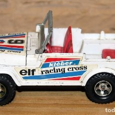 Coches a escala: MAJORETTE - JEEP RACING CROSS - MADE IN FRANCE - ESCALA 1/36 - 11.5CM DE LARGO. Lote 228972500