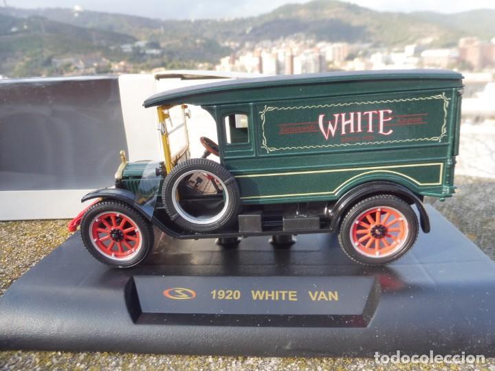 Coches a escala: RBA coche 1:32 con licencia en caja 1920 White Van - Foto 2 - 230199165