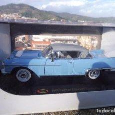 Carros em escala: RBA COCHE 1:32 CON LICENCIA EN CAJA 1958 CADILLAC ELDORADO SERIES 62. Lote 230200880