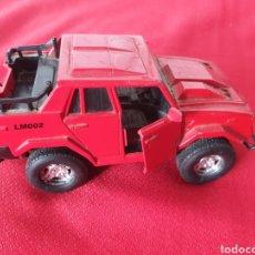 Auto in scala: ANTIGUO COCHE METAL LAMBORGHINI. Lote 232140215