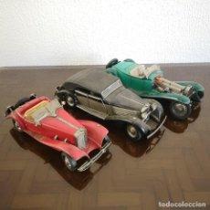 Auto in scala: LOTE 3 COCHES CLASICOS FRANKLIN MINT PRECISION MODELS ESCALA 1:18 DIE CAST. Lote 232444090