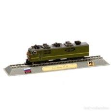 Coches a escala: TRANS SIBERIAN VL 80 RUSSIA 1:160 FERROCARRIL LOCOMOTORA DELPRADO LOC047. Lote 236321940