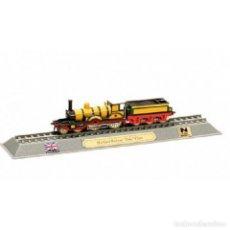 Coches a escala: HIGHLAND RAILWAY DUKE CLASS UK 1:160 FERROCARRIL LOCOMOTORA DELPRADO LOC051. Lote 236321980