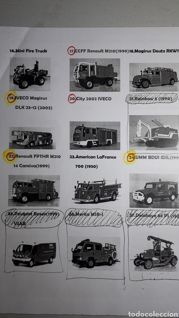 Coches a escala: camion bomberos firexpress mini fire truck 1/32 del prado - Foto 4 - 227924530