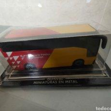Coches a escala: AUTOBÚS GUISVAL MINIATURA METAL BLISTER TRANSPORTE PÚBLICO DE CATALUÑA. Lote 240475945