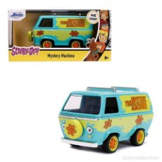 Coches a escala: RÉPLICA MISTERY MACHINE 1/32 - SCOOBY DOO - JADA TOYS. Lote 255386105