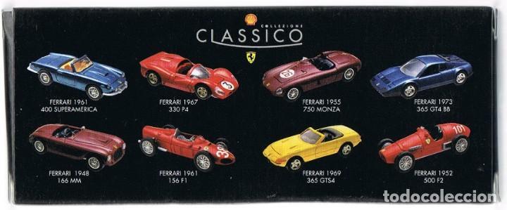 Coches a escala: Ferrari: Colección Shell de 8 modelos. - Foto 2 - 261966990