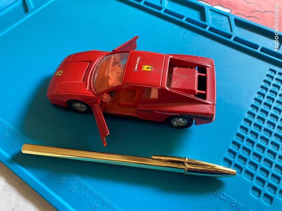 Coches a escala: COCHE FERRARI TESTAROSSA GUISVAL escala 1/32 rojo - Foto 2 - 269967983