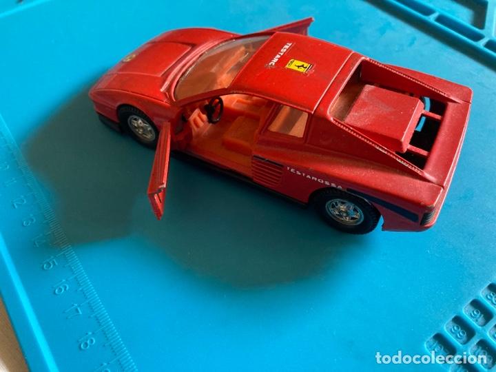 Coches a escala: COCHE FERRARI TESTAROSSA GUISVAL escala 1/32 rojo - Foto 3 - 269967983