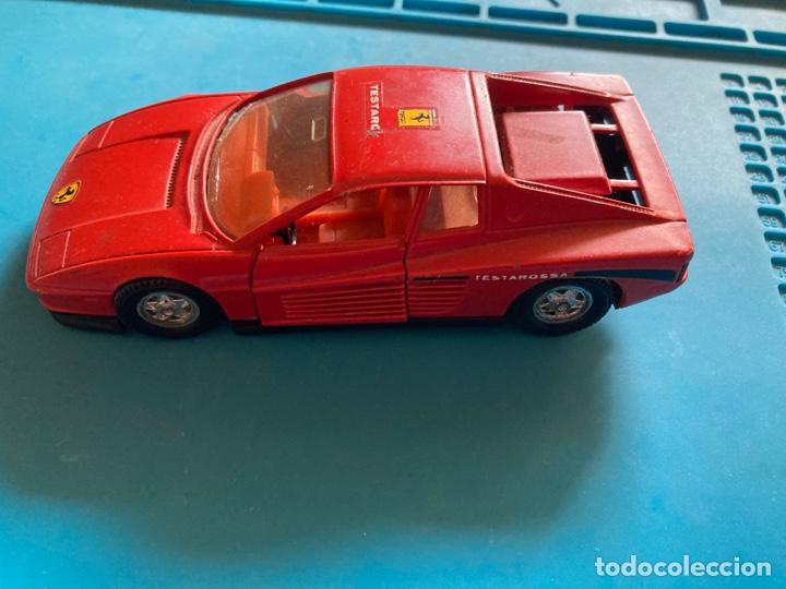 Coches a escala: COCHE FERRARI TESTAROSSA GUISVAL escala 1/32 rojo - Foto 4 - 269967983