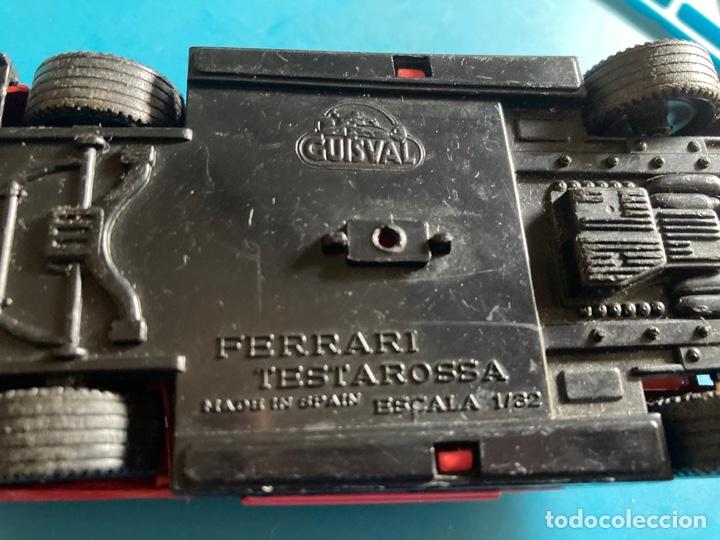 Coches a escala: COCHE FERRARI TESTAROSSA GUISVAL escala 1/32 rojo - Foto 8 - 269967983
