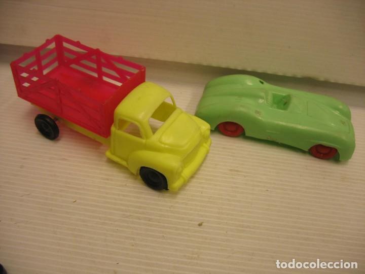 Coches a escala: coche y camion de plastico - Foto 9 - 275284003